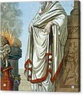Pontifex Maximus, Illustration Acrylic Print