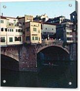 Ponto Vecchio Florence Palette Acrylic Print