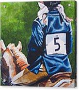 Pony Girl Acrylic Print