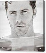Pool Man Acrylic Print
