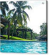 Pool Panorama Acrylic Print