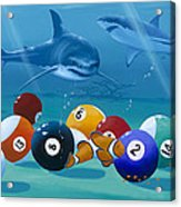 Pool Sharks Acrylic Print
