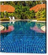 Pool Time Acrylic Print