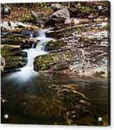 Pooling River Acrylic Print