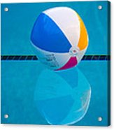 Pooltime Acrylic Print