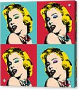 Pop Art Collage  Acrylic Print