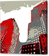 Pop Art Nyc 4 Acrylic Print