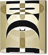 Pop Art People Totem 3 Acrylic Print