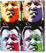 Pop Ditka Acrylic Print