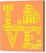 Pop Love 3 Acrylic Print