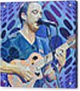 The Dave Matthews Band Op Art Style Acrylic Print