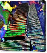 Popart In The Sky Acrylic Print