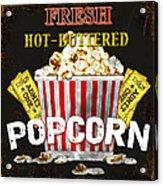 Popcorn Please Acrylic Print