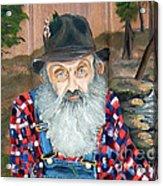 Popcorn Sutton - Moonshine Legend - Landscape View Acrylic Print