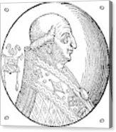 Pope Gregory II (d Acrylic Print