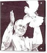 St. John Paul II Acrylic Print