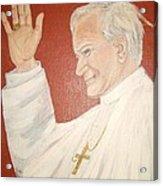 Pope Johnpaul II Acrylic Print