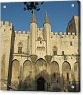 Popes Palace In Avignon Acrylic Print