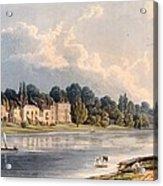 Popes Villa At Twickenham, 1828 Acrylic Print