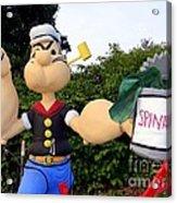 Popeye The Sailor Man Acrylic Print