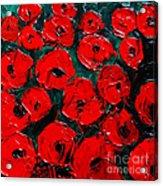 Poppies 3 Acrylic Print