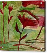 Poppies Abstract 2 Acrylic Print