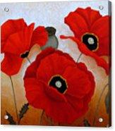 Poppies II Acrylic Print