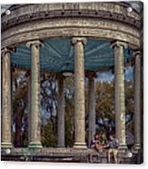 Popps Bandstand In City Park Nola Acrylic Print