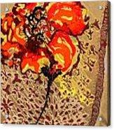 Poppy 50 Acrylic Print