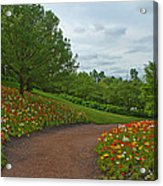 Poppy Path Acrylic Print
