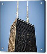 Popular Chicago Hancock Building Skyscraper Acrylic Print