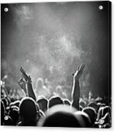 Popular Music Concert Acrylic Print