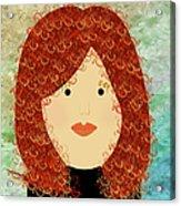 Porcelain Doll 19 Acrylic Print