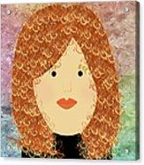 Porcelain Doll 20 Acrylic Print