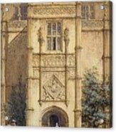 Porch At Montacute, 1842 Acrylic Print