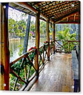 Porch Cultural Center Hawaii Acrylic Print