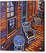 Porch  Acrylic Print