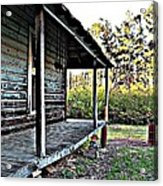 Porch Side Of Old House Acrylic Print