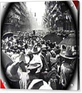 Porfirio Diaz Celebrating Republican President Benito Juarez July 1910 April 25 1911   Acrylic Print