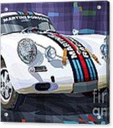 Porsche 356 Martini Racing Acrylic Print