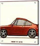 Porsche 911 964 Rs Acrylic Print
