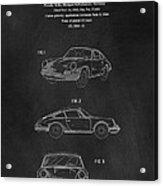 Porsche 911 Carrera 1964 Patent Art  Acrylic Print