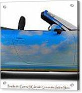 Porsche 911 Elvington Skies Acrylic Print