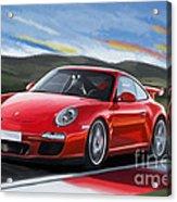 Porsche 911 Gt3 Acrylic Print