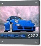 Porsche 911 No 1 Acrylic Print