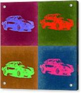 Porsche 911 Pop Art 3 Acrylic Print