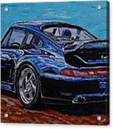 Porsche 911 Turbo  Acrylic Print