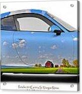 Porsche 911 Visingsoe Roenaes Acrylic Print