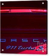 Porsche 911turbo S Acrylic Print