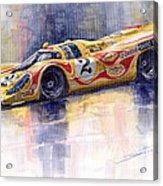 Porsche 917 K Martini Kyalami 1970 Acrylic Print